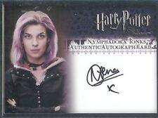 Harry Potter OOTP Update Auto Natalia Tena Nymphadora