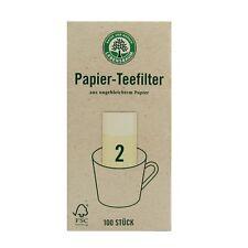 Lebensbaum Papier Teefilter Gr. 2 100 Stk.