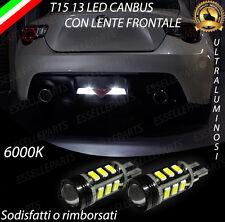 LAMPADE RETROMARCIA 13 LED T15 W16W CANBUS PER TOYOTA GT86 6000K NO ERROR