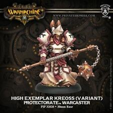 WARMACHINE Protectorate of Menoth PIP32080 High Exemplar Kreoss Warcaster NEW