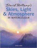 David Bellamy's Skies, Light & Atmosphere in Watercolour New Paperback Book Davi