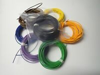 Wiring cables Color - Tube amplifiers, guitar amplifiers 0,50mm 1mm 1,50mm Cavi