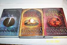 The Dark Legacy of Shannara, 3 VolS by Terry Brooks illustrated by Todd Lockwood