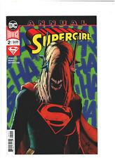 Supergirl Annual #2 VF/NM 9.0 DC Comics 2019 Batman Who Laughs