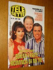 TELESETTE 1994/10=PAMELA PRATI TEO TEOCOLI MASSIMO BOLDI=LORENZO LAMAS RENEGADE