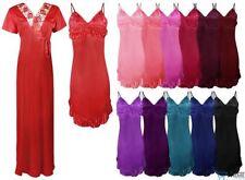Knee Length Satin Everyday Nightwear for Women