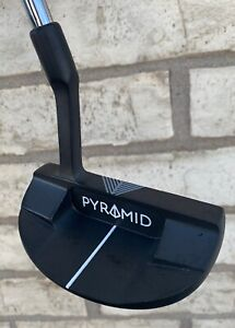 """PYRAMID PUTTERS MALLET AZ-2 35"""" BLAIR O'NEAL PUTTER GOLF GROOVE GOOD CONDITION!"""
