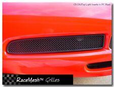 C5 Corvette 1997-2004 RaceMesh Front Brake Duct Grille Set -Black Powder Coat