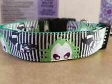 Beetlejuice Halloween Dog Collars (2 different styles)