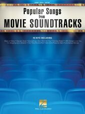 Popular Songs from Movie Soundtracks Sheet Music Piano Vocal Guitar 000146156