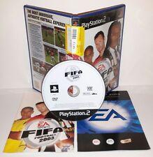FIFA FOOTBALL 2003 03 3 - Playstation 2 Ps2 Play Station Gioco Game