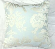 "shabby  Chic cushion cover laura ashley Tatton Duck Egg fabric  16"""