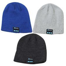 Winter Sport beanie Hat Wireless Bluetooth Smart Cap Headphone Headset Speaker