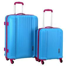 Swiss Case 4 Wheel Spinner EZ2C 2Pc Strong ABS Suitcase / Luggage Set