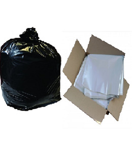 "Large Heavy Duty Compactor Sacks Bin Liners Rubbish Waste Bags 20"" x 34"" x 46"""