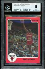 Michael Jordan Rookie Card 1986 Star Pro Stats BGS 9 (9 9.5 9.5 9)