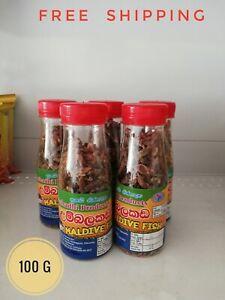 Maldive Tuna Fish Dried Chips Pure Sun Dried Spice For Curries Ceylon 100g