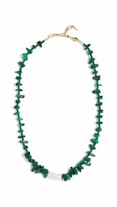 NEW ANNI LU INES GREEN NECKLACE