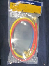 "YELLOW JACKET 36"", 3 PAK, PLUS II 1/4"" CHARGING HOSES RYB - 21983"