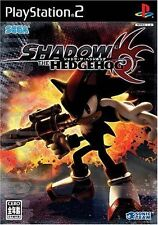 Used PS2 SONIC SEGA Shadow the Hedgehog  SONY PLAYSTATION JAPAN IMPORT