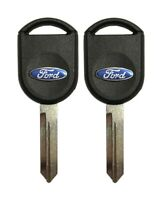 2 New Transponder Ignition Car Keys for Ford Lincoln Mercury Mazda 4D63