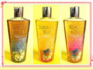 Victoria's Secret BEACH LOVE SECRET OASIS SUMMER SUN Buffing Body WASH u pick 1