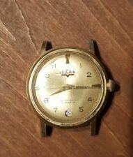 Vulcain 17 Jewel Automatic Date Wristwatch Running Strong
