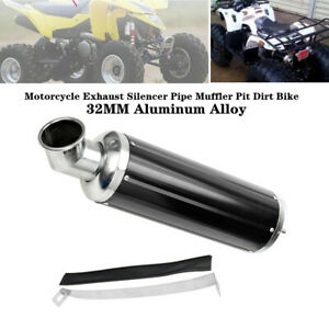 32MM Aluminum Alloy Elbow ATV Off-road Motorcycle Exhaust Silencer Pipe Muffler