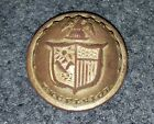 Civl War Federal New York State Button 22mm Excavated Fredericksburg, VA