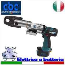 Pressatrice elettrica portatile a batteria con pinze di tipo U Ø 16-20-25 – U...