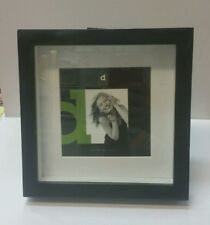 Black square shadow box photo picture frame 5x5/9x9