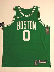 Nike Boston Celtics Jayson Tatum Authentic Stitched Jersey Sz 58 3XL