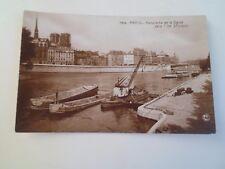 Vintage RPPC PARIS Panorama de la Seine Ver L'lie St Louis    §A261