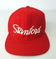 VTG Sports Specialties Single Line Script Stanford Cardinals Red Hat Snap-back
