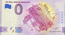 BILLET 0 EURO GP DELL'EMILIA ROMAGNA IMOLA ITALIE ANNIVERSARY 2021 NUMERO DIVERS
