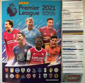 PANINI PREMIER LEAGUE 2021 STICKERS - 440 - 642 Newcastle United - Wolves 20/21