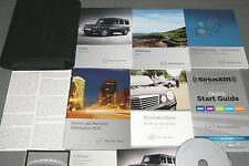 2014 Mercedes Benz G550 G 63 / Class Owners Manual SET (Rare Item!!)