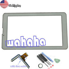 "WHITE Digitizer Touch Screen Panel For iRULU eXpro X2 X2S 3G HD 7"" Tablet PC"