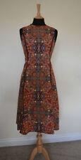 Zara Geometric Sleeveless Dresses Midi for Women