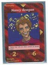 "Illuminati New World Order ""Nancy Reagan"" Card Game Nice OP1."
