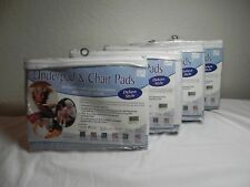Salk 4 Piece CareFor Deluxe Underpad & Chair Pads 32'' x 36'' Triple-Layer