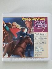 NEW Great Stories #7 from Your Story Hour Audio CD Album Volume Set More Vol