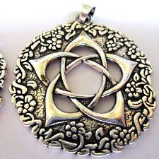 5 Colgantes Pagano Wicca Viking tema pentáculo de la diosa + fianza Sello De Salomón