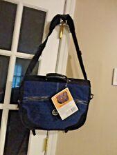 Crinkle Nylon Messenger Portfolio Laptop Carrier Shoulder Bag by Travel overland