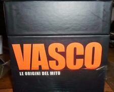 vasco rossi cofanettoVASCO LE ORIGINI DI UN MITO, box 8 cd + libricino sigillati