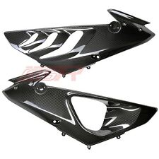 2009 2010 2011 BMW S1000RR Side Panel Infill Cover Fairing Twill Carbon Fiber