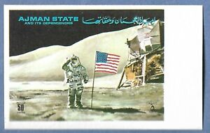 A SPACE POSTAGE STAMP FROM AJMAN STATE #1