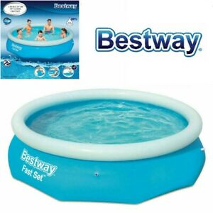 BESTWAY 6FT X 20IN FAST SET FAMILY POOL PATIO GARDEN OUTDOOR PADDLING SWIMMING