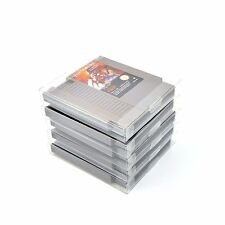 10 NES Cartridge Protectors Dust Sleeves Nintendo Carts Box Games Cover