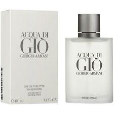 ACQUA DI GIO BY GIORGIO ARMANI 3.4 OZ 100ML FOR MEN EAU DE TOILETTE NEW & SEALED